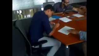 Programa de Beisbol Luis Matias ( Carlos Vargas firmando Julio 2 2015 )
