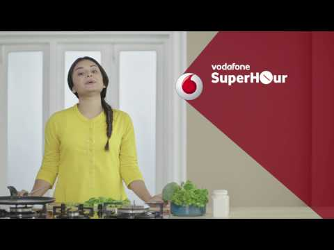 Vodafone SuperHour - Unlimited Serials with Unlimited internet