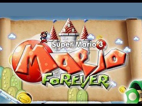 Стрим игры Super Mario Bros. Forever (PC) Прохождение