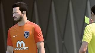 FIFA 18 II Bursaspor Vs İstanbul Başakşehir FK,Turkish Süper Lig II PS4 Game