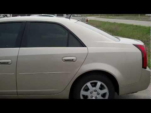 2006 Cadillac CTS tint job - YouTube