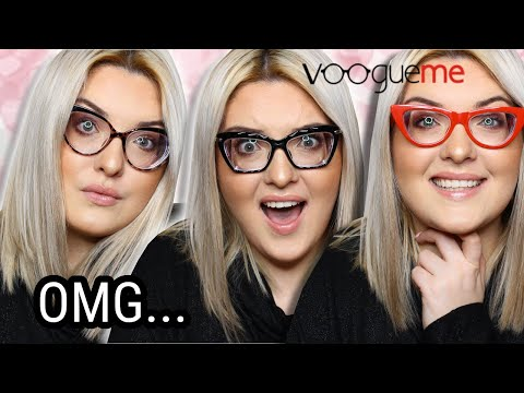 Buying STRONG prescription glasses online?!! VOOGUE ME