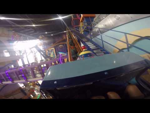 Indoor shopping mall roller coaster, Kuala Lumpur