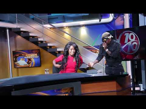 Harmonize Birthday Surprise At Citizen Television