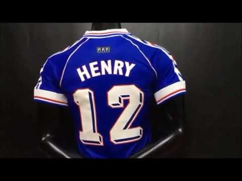 f64819865f Camisa Seleção França 1998 Retro - YouTube