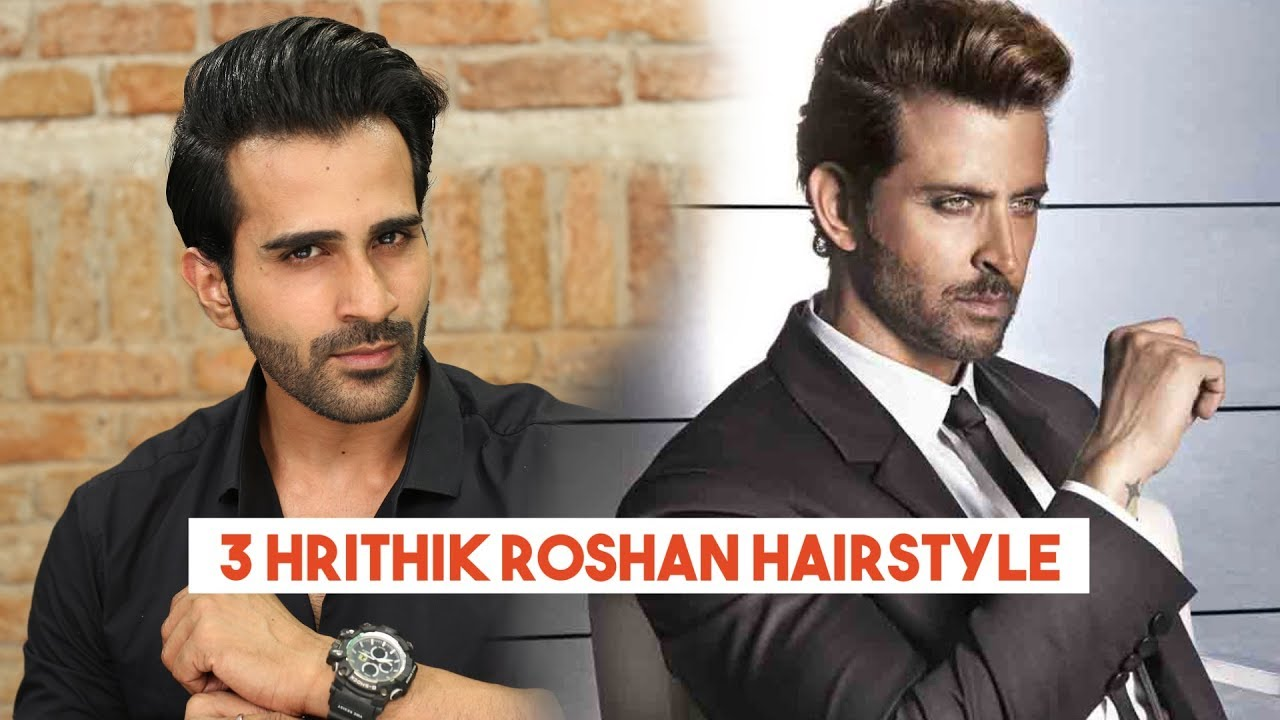 3 Hrithik Roshan Hairstyle Tutorial Askmen India Youtube