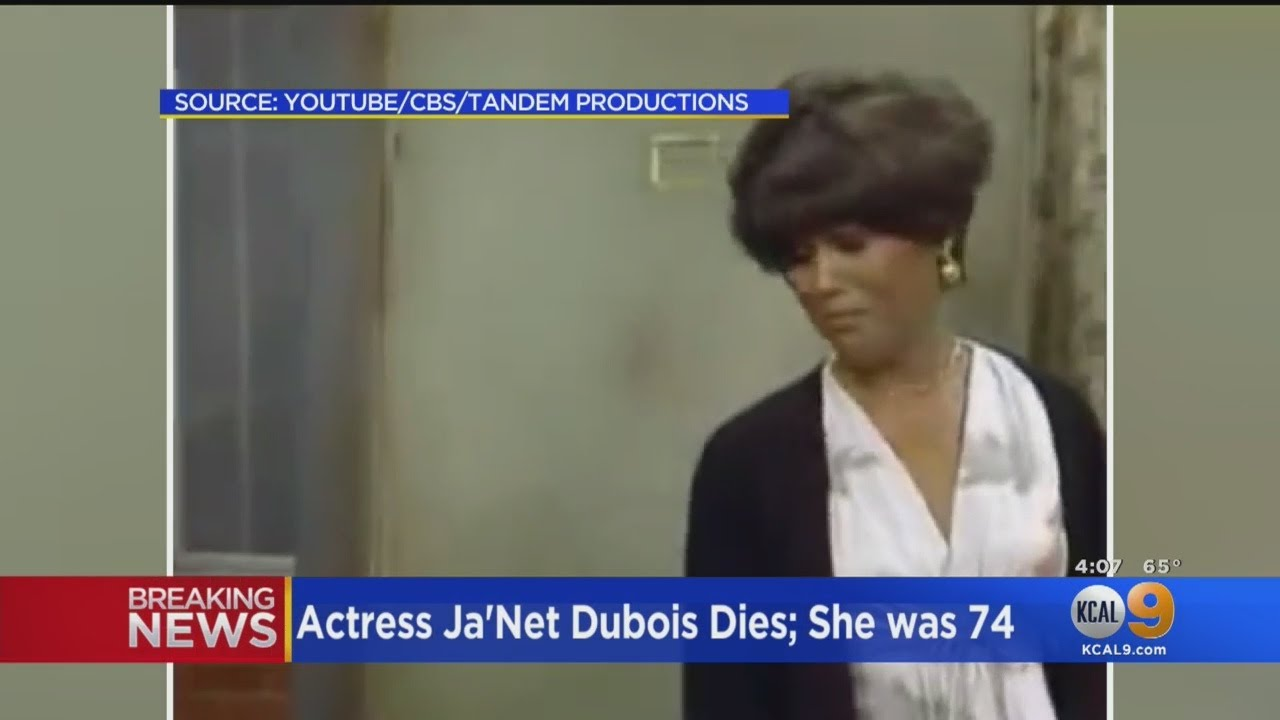 Actress Ja'net DuBois, 'Good Times' Star, Dies At Age 74
