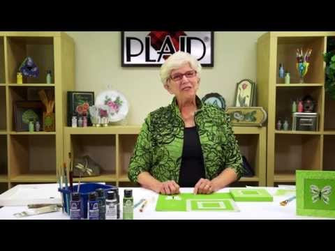How To Paint A Butterfly With FolkArt & Priscilla Hauser