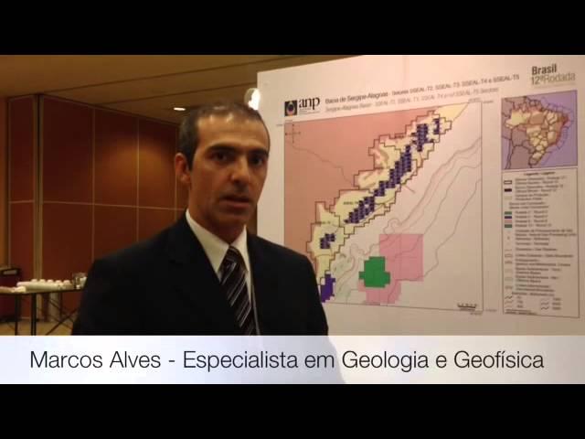 Marcos Alves, Especialista em Geologia e Geofísica da ANP, fala sobre a Bacia de Sergipe-Alagoas