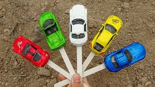 Learn numbers & colors with car toys for kids - H865C