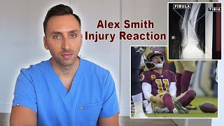 Washington qb alex smith leg injury in 2018 was tough to watch. if you are like me, followed his entire recovery process and hospital journey over the n...