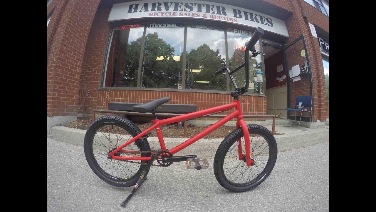 2015 free agent lumen 20 bmx unboxing harvester bikes youtube
