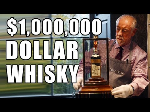 Rare Bottle Of Scotch Whisky Sold For $1.1 Million Dollars!