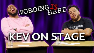 KevOnStage Vs Tahir Moore - WORDING IS HARD
