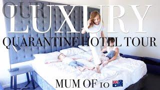 LUXURIOUS AUSTRALIAN QUARANTINE HOTEL TOUR! / MUM OF 10 @Taina Licciardo-Toivola
