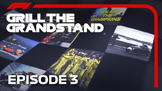 Grill the Grandstand! | Formula 1 Quiz | Episode 3