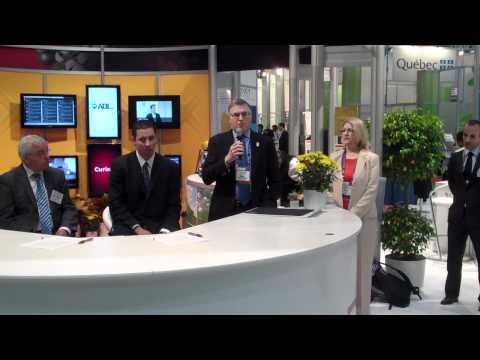 Maryland & Paris Medicen Region Partnership Agreement at BIO