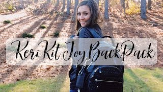The KeriKit Joy XL is a gorgeous diaper bag for moms on the go. Her...
