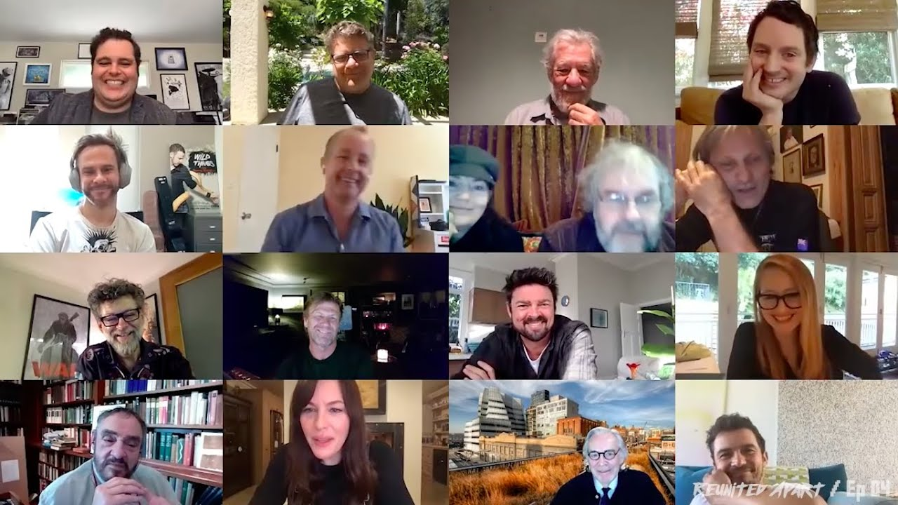 Download Lord of the Rings 2020 CAST reunion   FUNNIEST MOMENTS & BEST BITS