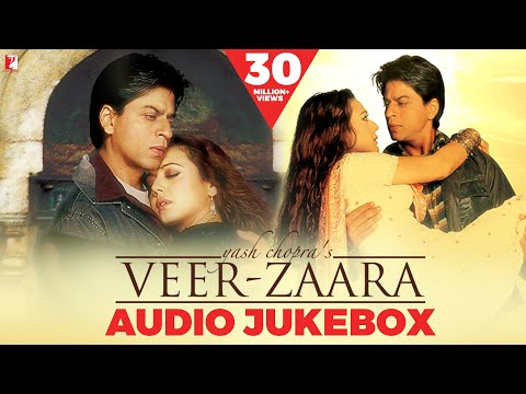 VeerZaara Audio Jukebox  Late Madan Mohan  Shah Rukh Khan  Preity Zinta