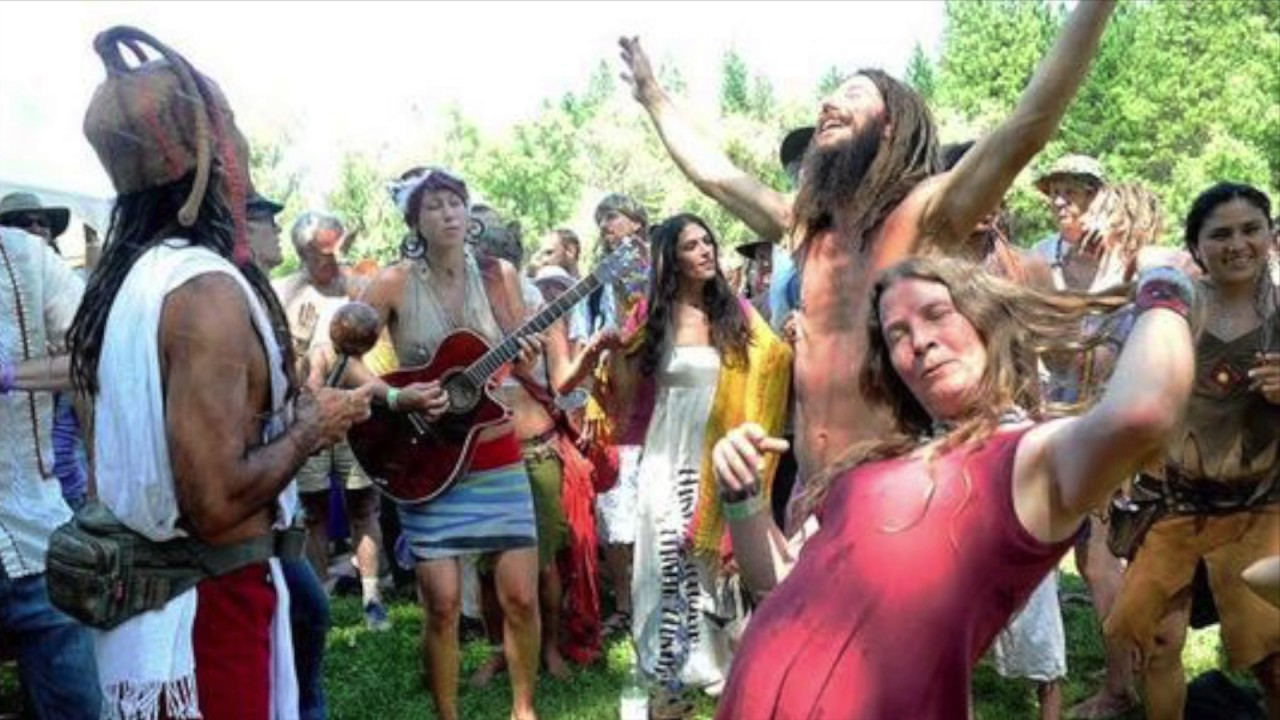 "hippie movement 50 years ago this week: when the hippies took america  new orleans"" and maybe 300,000 people somehow connected to the movement."