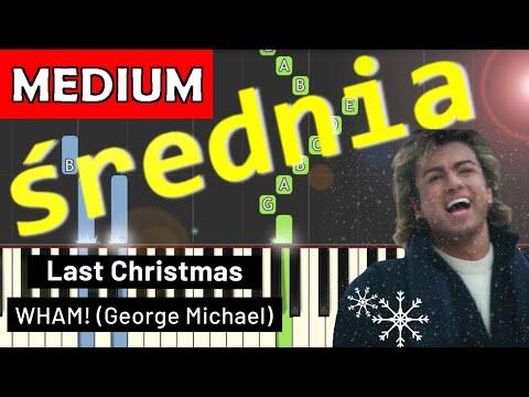 🎹 Last Christmas (Kolęda dwóch serc) - Piano Tutorial (średnia wersja) (MEDIUM) 🎹