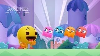 PAC MAN Pop Bubble Shooter Match | Levels 1 6 Best Game 4 Kids By BANDAI NAMCO