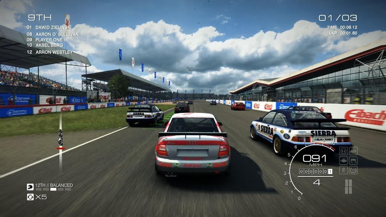 Grid Autosport PC HD: Audi A4 Quattro Touring Car in Silverstone International, Touring Legends ...