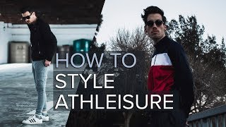 How to wear COMFORTABLE but STYLISH clothing | Men's Athleisure Outfit thumbnail