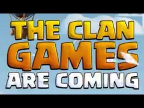 WINTER UPDATE TEASER ; CLAN GAMES COMING SOON | SNEAK PEEK TOMORROW?