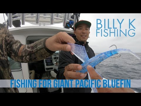 Big Tuna Dreams Part 1 - Fishing With Billy Keleman For Giant Pacific Bluefin Tuna