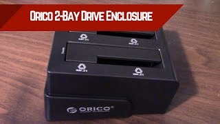 Orico 2-Bay Drive Enclosure - Worth the Cloning Feature?