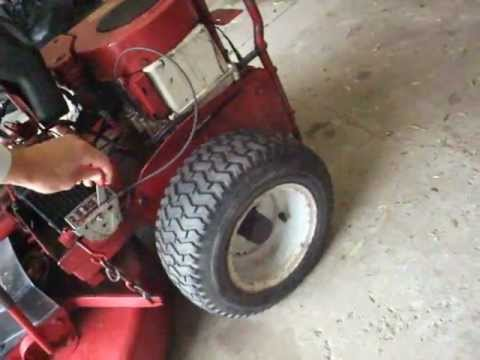 Briggs And Stratton Ignition Wiring Diagram Snapper Riding Mower Start Up Youtube