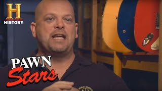 Pawn Stars Auction   History