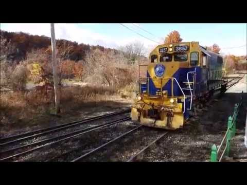 Freight Trains of Massachusetts; CSX, P&W, and NECR Trains
