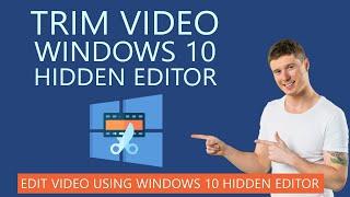 How to Trim Video using Hidden Editor in Windows 10 screenshot 5