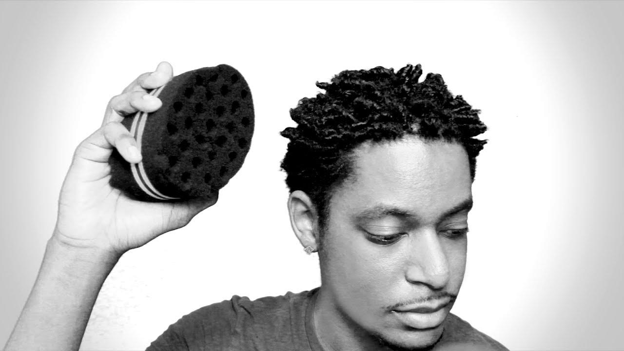 Twist Sponge On Short Natural Hair Tutorial Winstonee Youtube