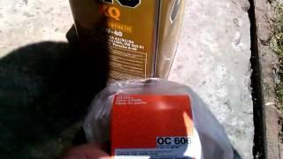 Отзыв о моторном масле  Zic 5W40 после замены в Чери Амулет