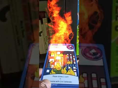 Fire effect - Augmented Reality