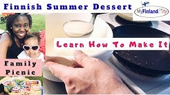 My Husband Makes Popular Finnish Summer Dessert (SUOMEKSI + ENGLANNIKSI))