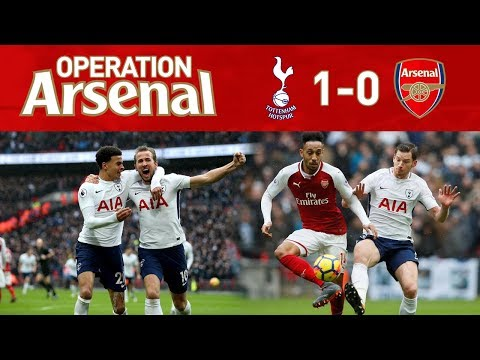 SPURS 1-0 ARSENAL - R.I.P TOP 4!