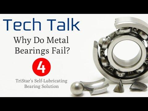Bearing Failure Video (4/4) -TriStar's Self-Lubricating Bearing Solution