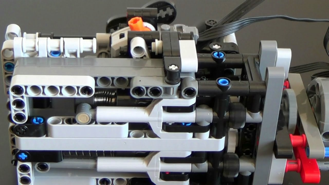 lego technic gear unit alternative pneumatic compressor. Black Bedroom Furniture Sets. Home Design Ideas