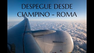 Despegue desde Ciampino (CIA) - Roma | Santiago Molina