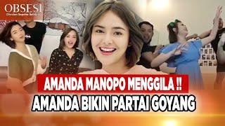Download PARTAI GOYANG AMANDA MANOPO, BIKIN SEMUA CREW PADA JOGET BEGINI - OBSESI 23/09