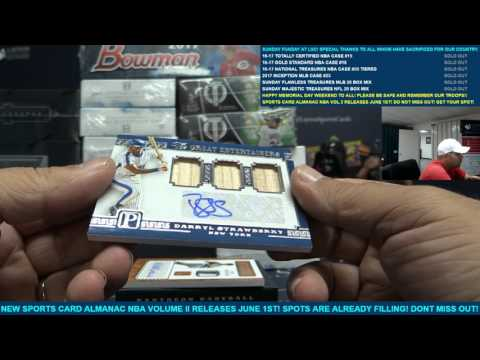 Sunday Funday MLB Flawless Treasures 20 Box Baseball Mixer