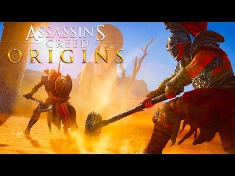 ASSASSINS CREED ORIGINS : OMG NEUER GLADIATOREN MODUS !!