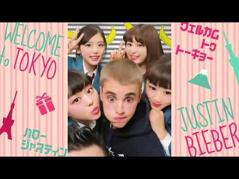 All videos of Justin Bieber being cute having fun in SoftBank Japanese commercial - December 2017