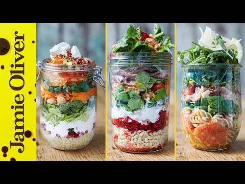 Healthy Jam Jar Salads | Jamie Oliver