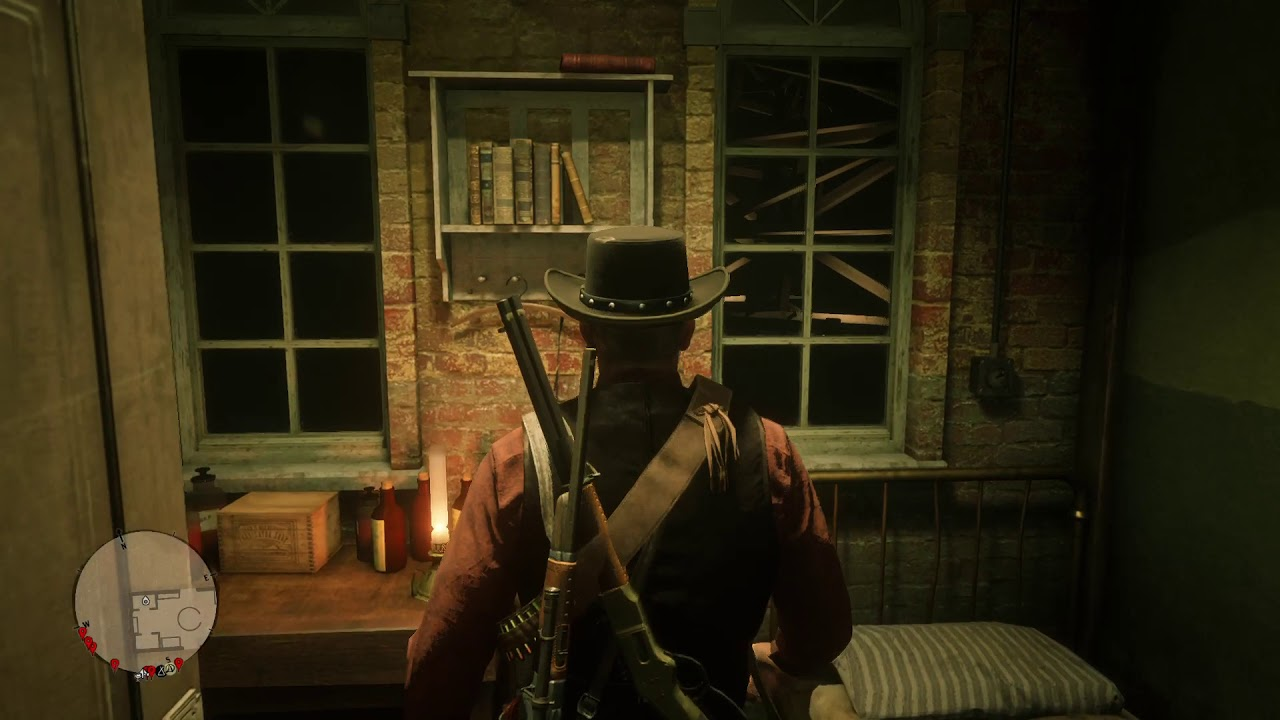 RDR2 Professor Dragic died while I was at the lab